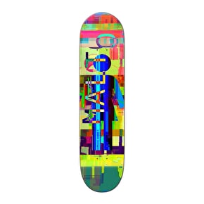 Girl Glitch Mode Mini Skateboard Deck - Malto 7.25