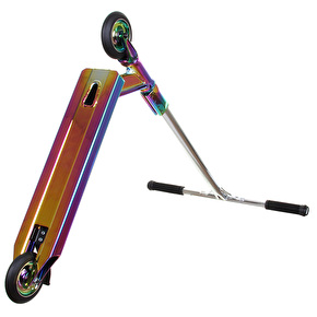 Panda x UrbanArtt Custom Scooter - Neochrome/Chrome