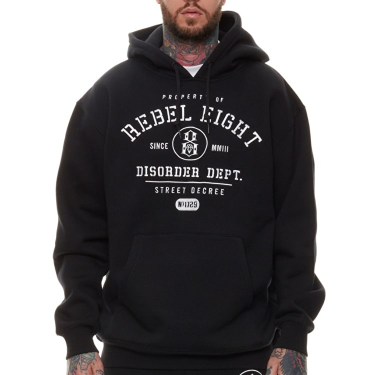 Rebel8 Property Of Hoodie - Black