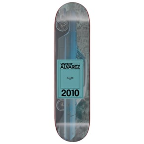 Chocolate Inaugural Alvarez Skateboard Deck - 8