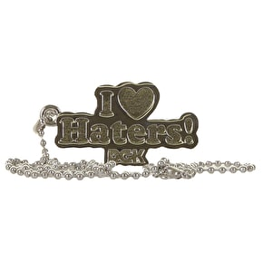 DGK Haters Necklace - Nickel