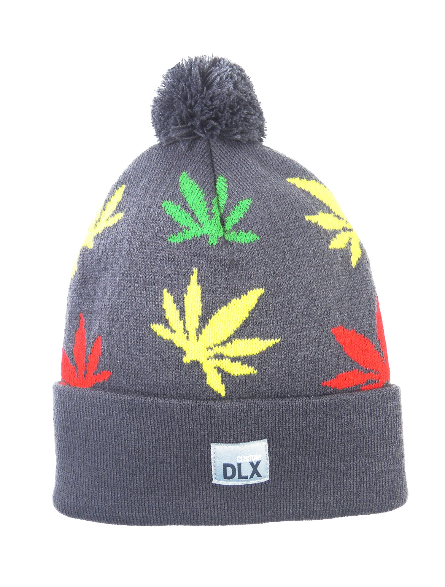 Image of CDX Grass Print Beanie - Charcoal