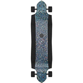 Globe Geminion Micro-Drop Longboard - Rainbow Serpent 37.5