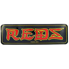 Bones Reds Bearing Sticker