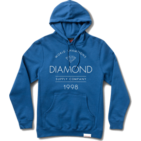 Diamond Craftsman Hoodie - Royal Blue