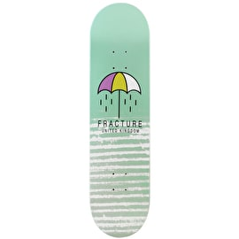 Fracture Brolly Skateboard Deck - Green 8