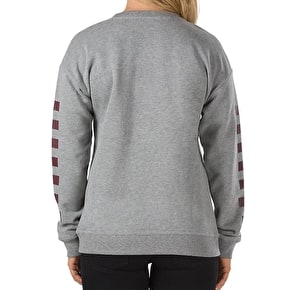 Vans Big Fun Womens Crew Sweater - Grey Heather