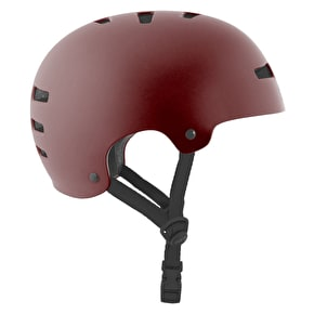 TSG Evolution Helmet - Satin Oxblood