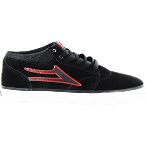 Lakai Griffin Mid x Van Styles Shoes - Black Suede