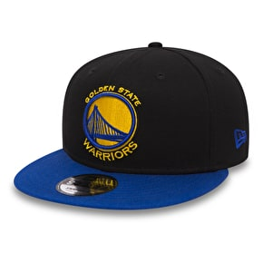 New Era 9Fifty Black Base Snapback Cap - Golden State Warriors