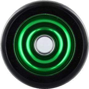 Eagle Green core Black Pu Metal Core wheel - 110mm