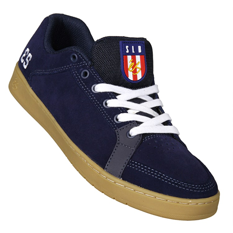 eS Sal Skate Shoes - Navy/Gum/White