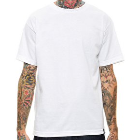 Rebel8 Basic T-Shirt - White