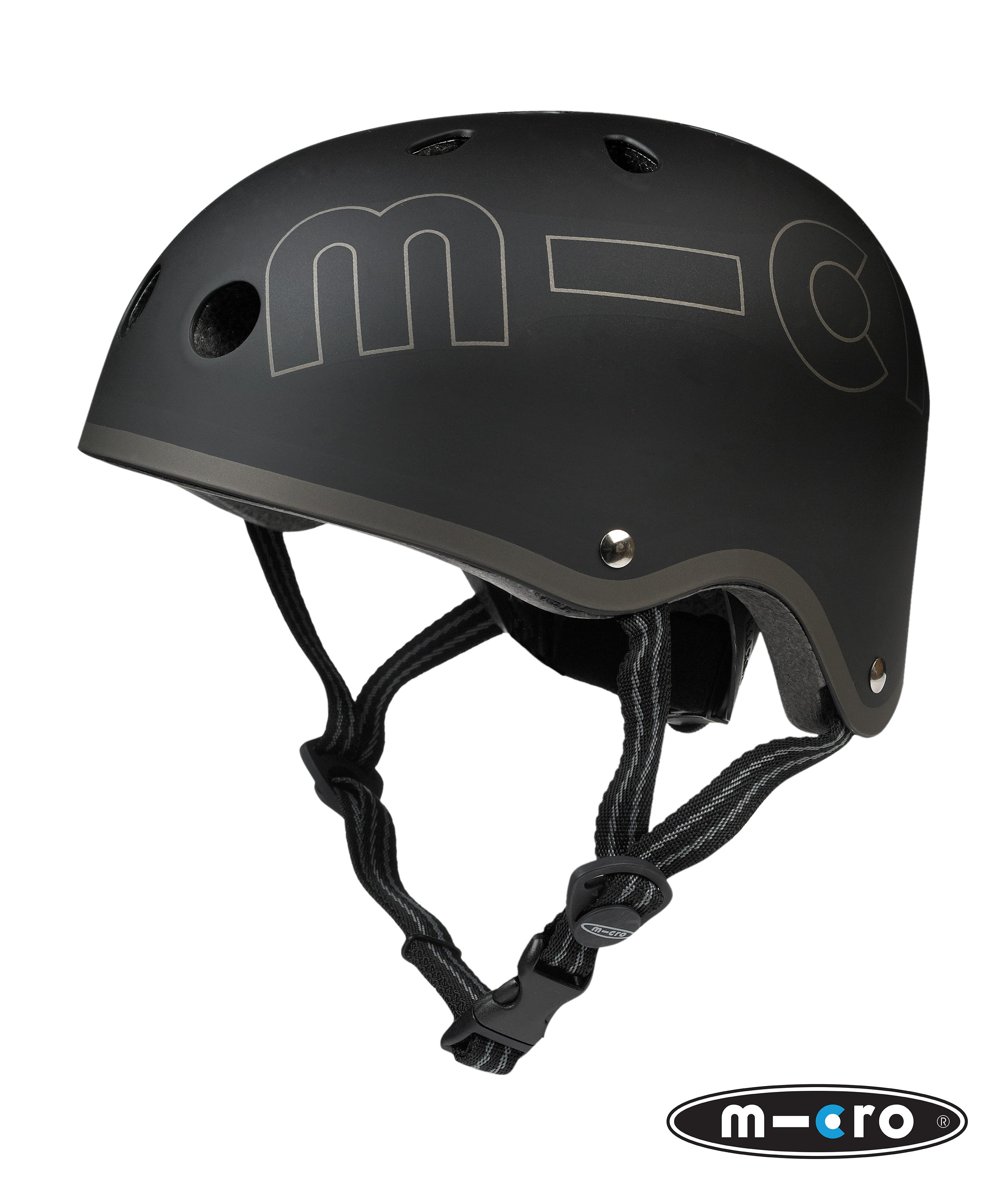 Image of B-Stock Micro Safety Helmet - Black - Small (48-52cm) (Cosmetic Damage/No Box)