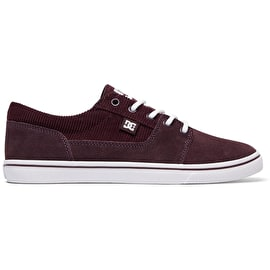 DC Tonik W SE Skate Shoes - Maroon