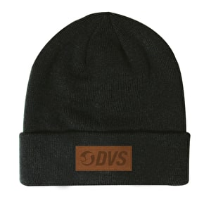 DVS Micro Suede Patch Cuffed Beanie - Black