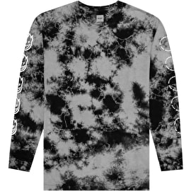 Huf X Spitfire Burn Faster Long Sleeve T Shirt - Black