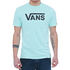 Vans Classic Logo Fill T-Shirt - Mint/Tonal Palm