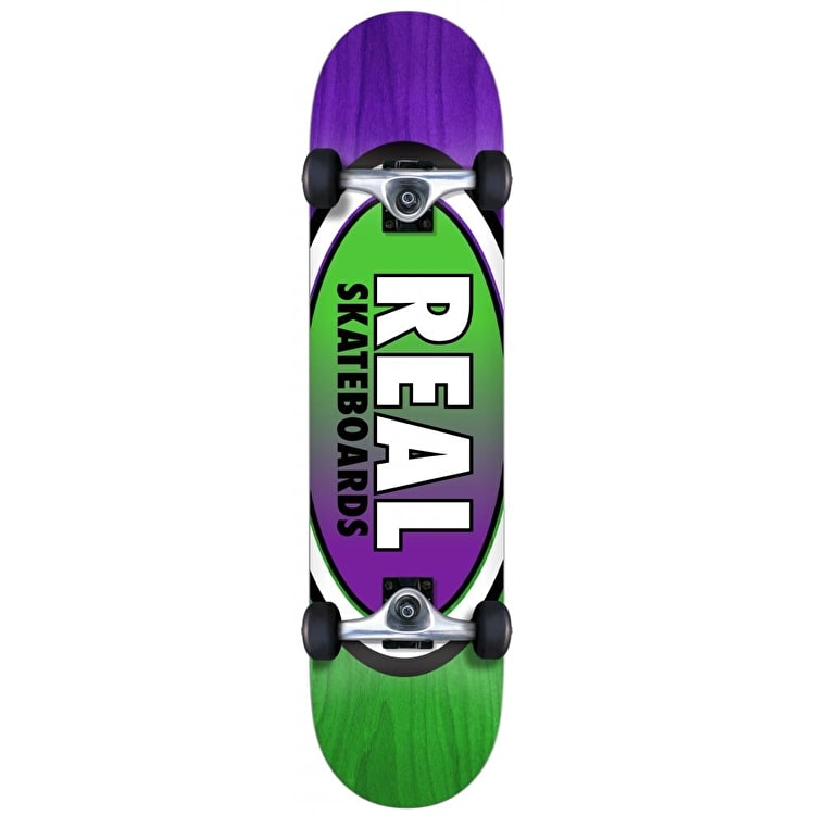 Real Oval Two Fades Complete Skateboard - 7.75""