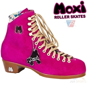 Moxi Fuschia Quad Roller Skates- Boot Only