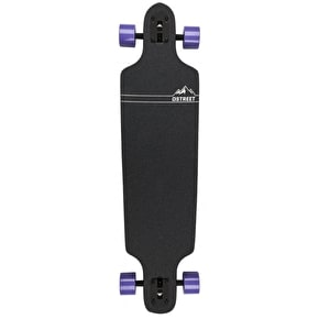 D-Street Longboard - Blocks Drop-Through Purple 37.5