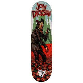Deathwish Nightmare In Emerald Skateboard Deck - Dickson 8.125