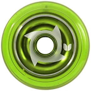 Blazer Pro Metal Core Shuriken Wheel - Green 100mm