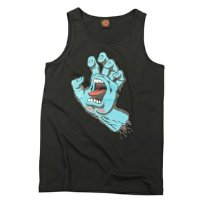 Santa Cruz Kids Vest - Screaming Hand Black