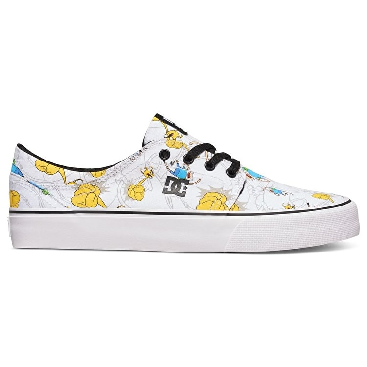 DC Trase Shoes - (Adventure Time) Black/Multi