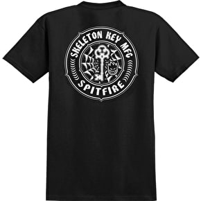 Spitfire x Skeleton Key MFG Pocket T-Shirt - Black/White