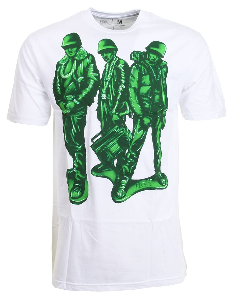 Neff Run Green TShirt  White