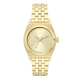 Nixon Medium Time Teller Womens Watch - All Gold