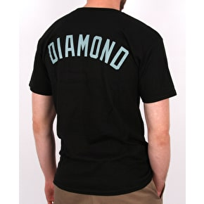 Diamond Un Polo T-Shirt - Black