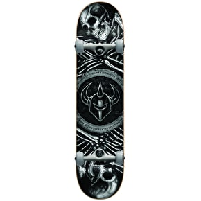 Darkstar Remains Complete Skateboard - Silver 7.75