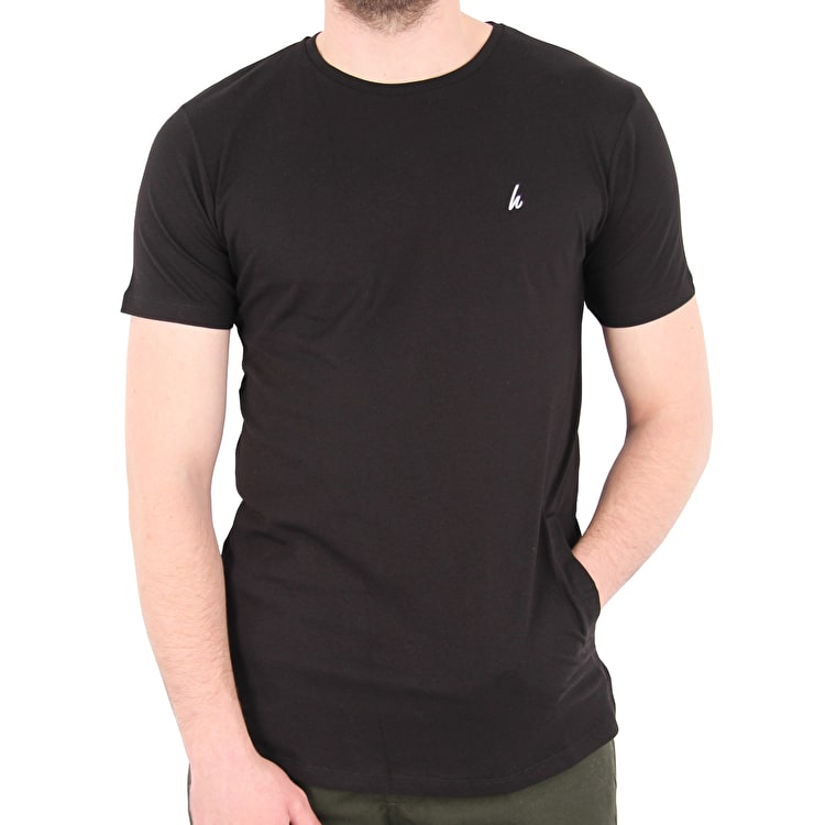 Hype Side Pocket T shirt - Black