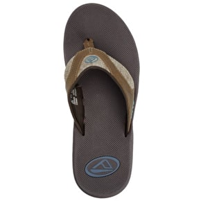 Reef Fanning Flip-flops - TX Dark Brown/Gum