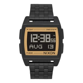 Nixon Base Watch - All Black/Gold