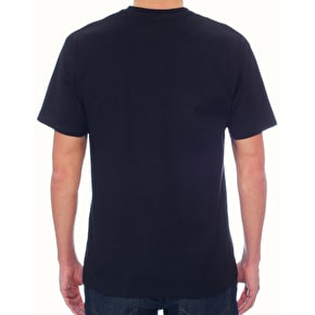 Vans Classic Logo Fill T-Shirt - Black/Beer Belly