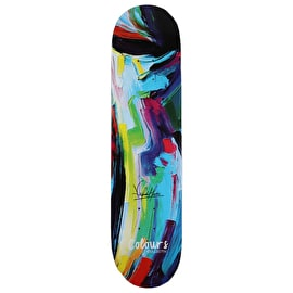 Colours Collectiv Aja Kelvin Hoefler Skateboard Deck 7.8