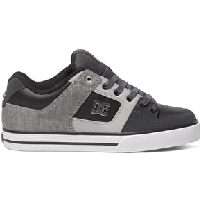 DC Pure SE Shoes - Grey/Black/Grey