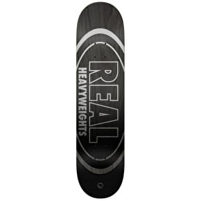 Real Heavyweights Skateboard Deck - Black 8.5