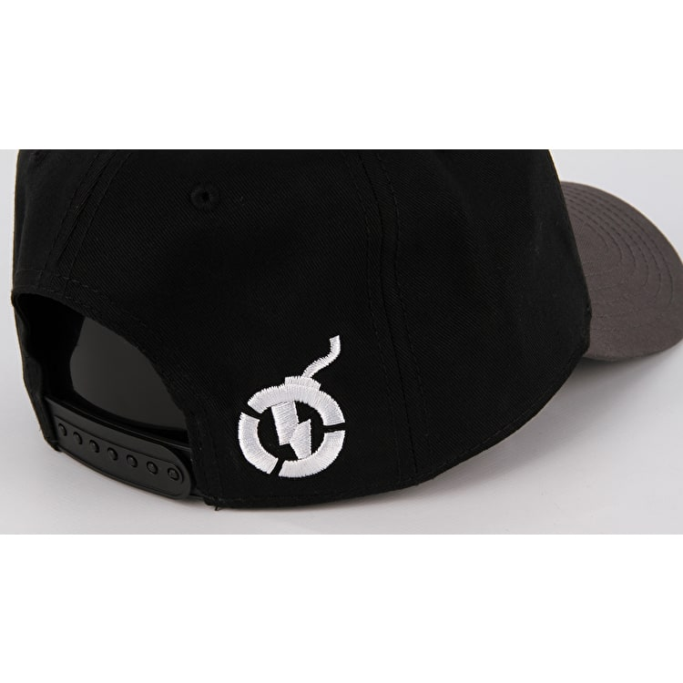Nitro Circus Captain Business 6 Panel Dad Cap - Black/Grey