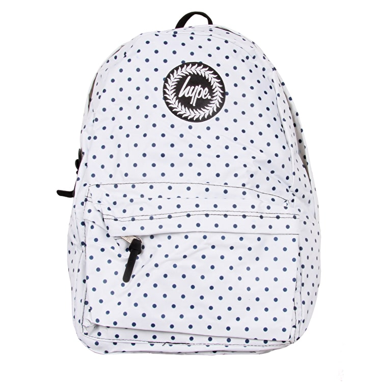 Hype Reversible Backpack - Polka/Navy
