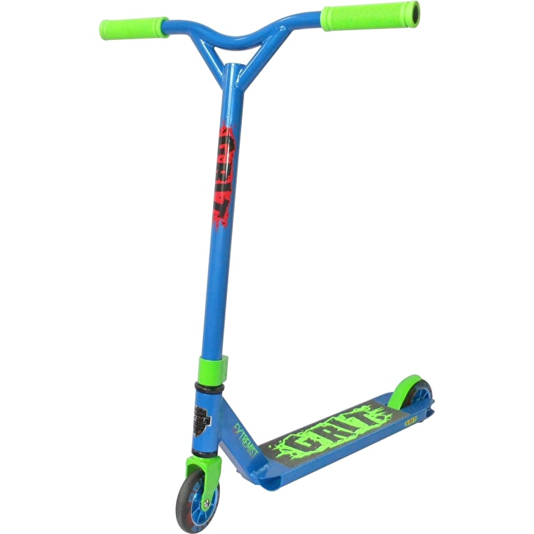 Grit Extremist Complete Scooter - Blue/Fluro Green