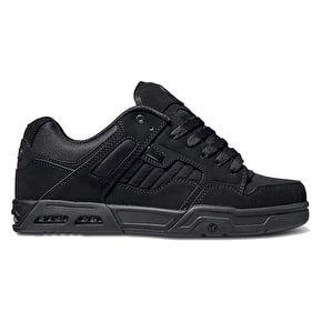 DVS Enduro Heir Skate Shoes - Black/Black Nubuck