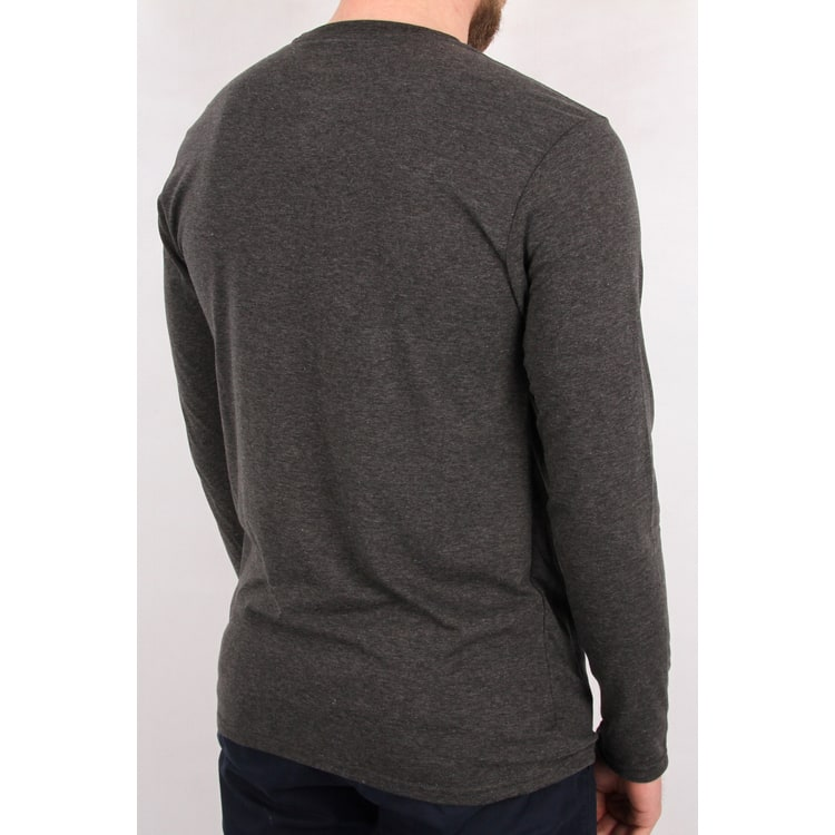 Fox Planned Out LS Tech T Shirt - Heather Black