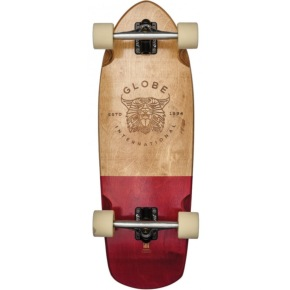Globe Stubby Cruiser - Half Dip Natural/Red 30