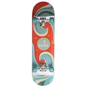 Ridge Wave Complete Skateboard - Surf 7.75