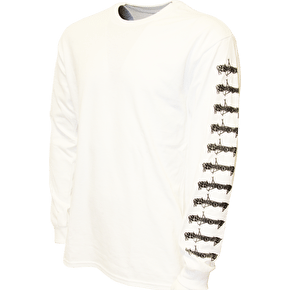 Witchcraft Goatwitch Long Sleeve T-Shirt - White