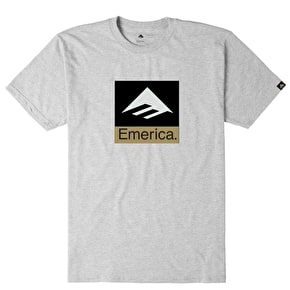 Emerica Combo T-Shirt - Grey/Black